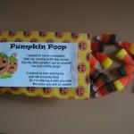 Pumpkin poop