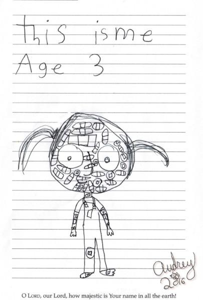 Audrey age 3